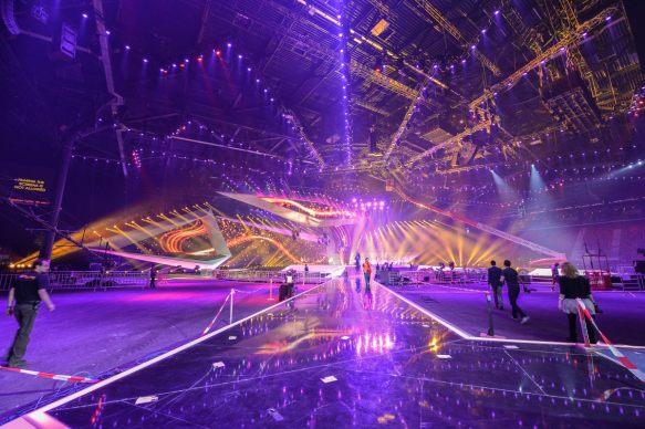 The impressive Baku stage